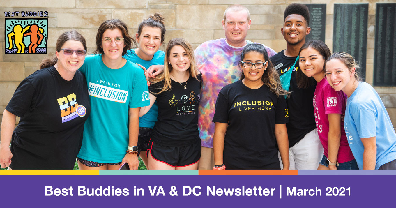 Best Buddies in VA & DC Newsletter: March 2021